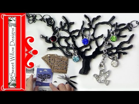 Jewelry Making for Beginners Family Tree Necklace