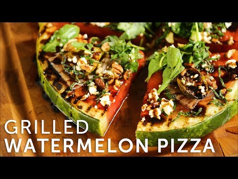 Grilled Watermelon Pizza | BBQGuys.com