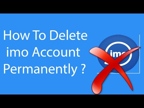 How To Delete Your imo Account Permanently -2016 ?