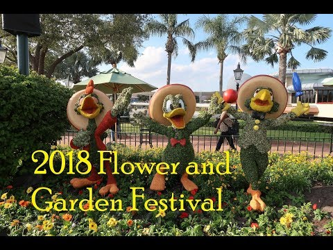 Epcot Flower and Garden Festival Opening day 2018