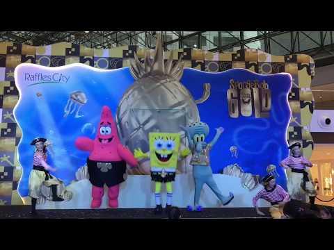 SpongeBob Squarepants & his pals Christmas 2017