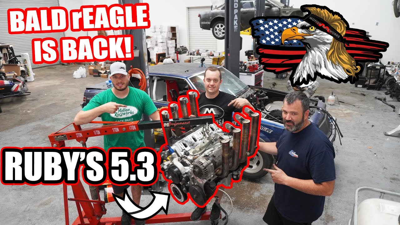 Bald rEagle gets Ruby's built 5.3 just in the nick of time! Burnout Rivals ready!