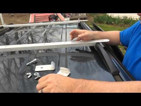 Roof Rack Cross Rails (Homemade DIY)