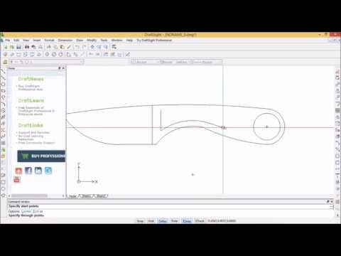 Designing a Neck Knife Using CAD