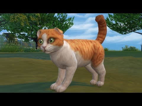 The Sims 4: Cats & Dogs Vet Career (Streamed 11/11/17)