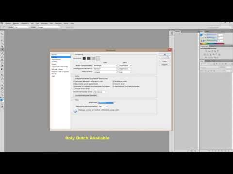 Adobe Photoshop CS6 - Change language to English