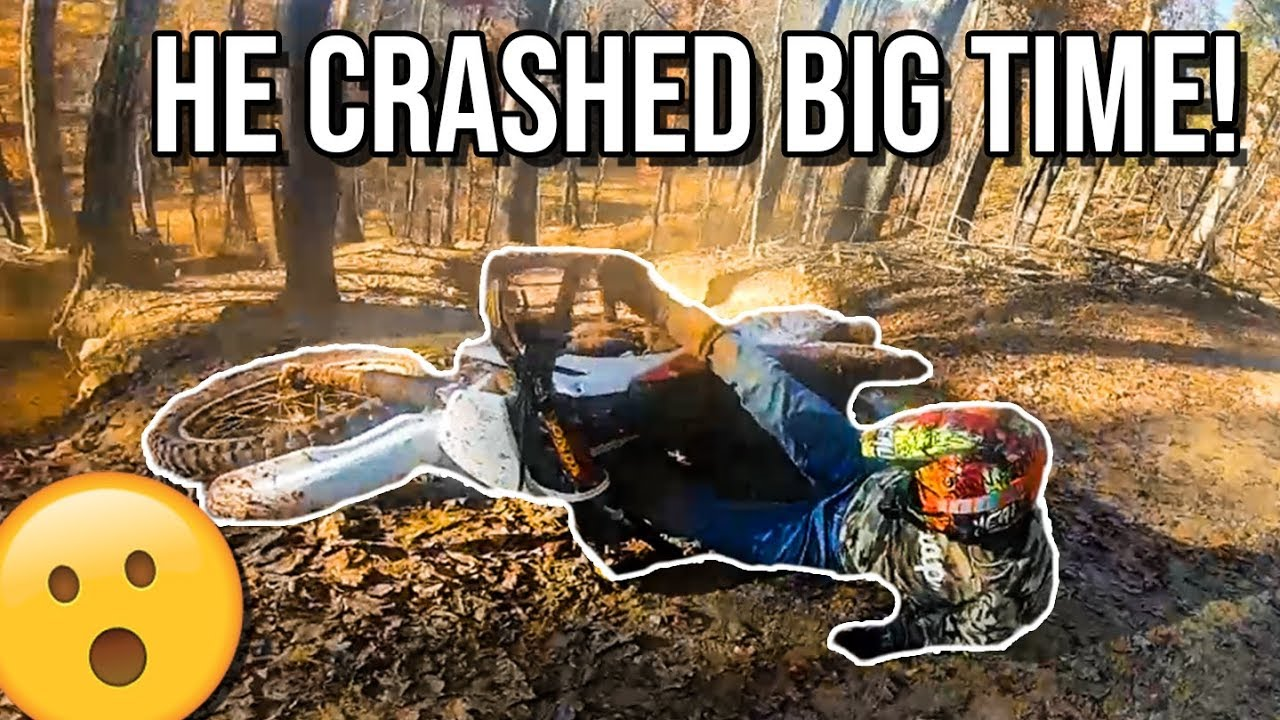 He WRECKED the BIKE I Bought Him!!