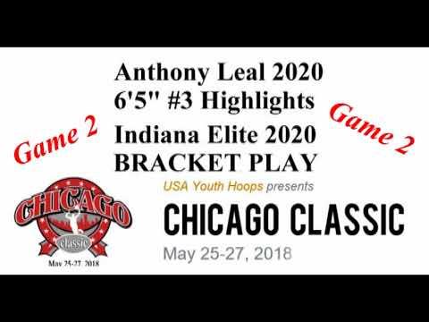 2018-05-27 Anthony Leal-Chicago Classic 16Us Indiana Elite 2020 Bracket Play