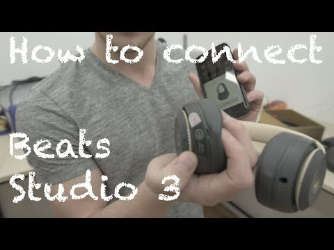 How to Pair Sync your Beats By Dre Studio 3 Wireless Headphones With iPhone Android
