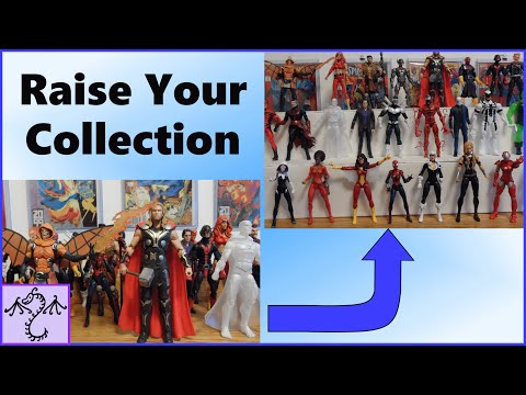 Raise Your Collection: Action Figure Collecting Tips Tag Response to The Comic Figure Blog