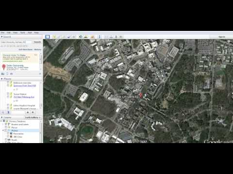 How to make a Google Earth Place Mark