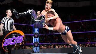 Mark Andrews vs Drew Gulak - Cruiserweight Title Tournament Quarterfinal: WWE 205 Live, Mar. 6, 2018