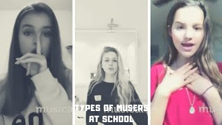 Types of Musers At Highschool