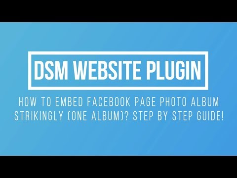 How To Embed Facebook Page Photo Album on Strikingly Website?