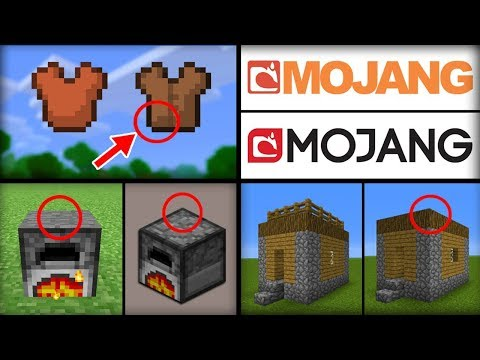 50 Features That Were Changed in Minecraft