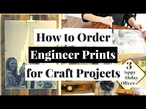 How to Order Photos as Engineer Prints