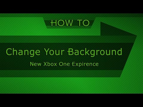 HOW TO: Change the background of your Xbox One (NXOE)