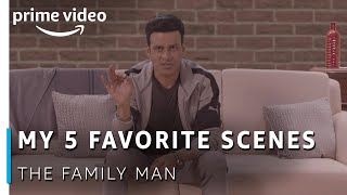 My 5 Favorite Scenes in The Family Man | Manoj Bajpayee | Amazon Prime Video