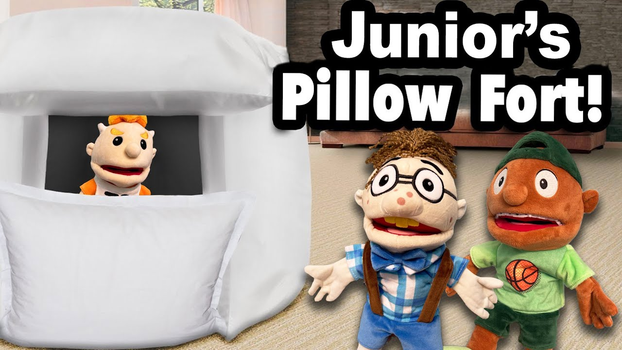 SML Movie: Junior's Pillow Fort!