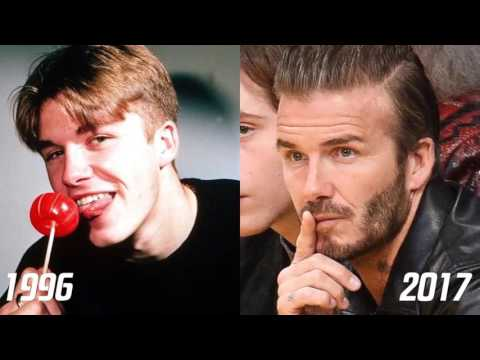 David Beckham TRANSFORMATION 0 to 41 Years Old  ● Face ● Body ● Hair Style