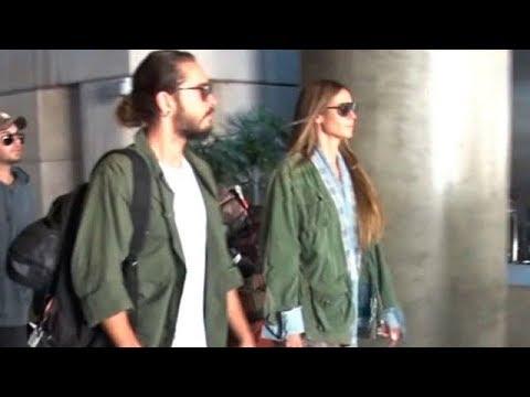 Supermodel Heidi Klum And Her 28 Year-Old-Boyfriend Tom Kaultiz Back In LA
