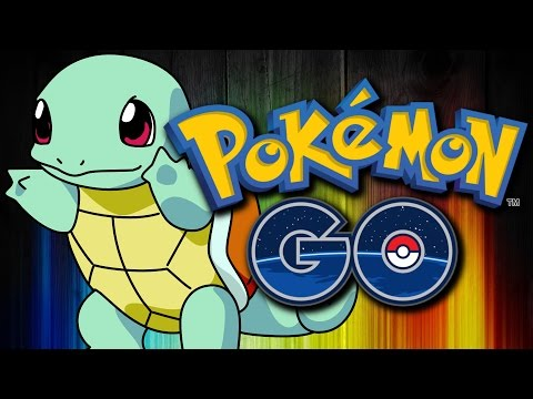 CATCHING A WILD SQUIRTLE!! - Pokemon Go! EP1