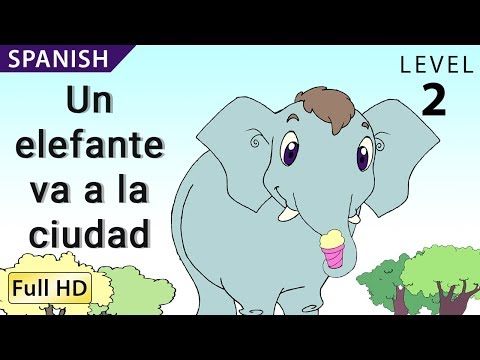 Rosa Goes to the City: Learn Spanish with subtitles - Story for Children