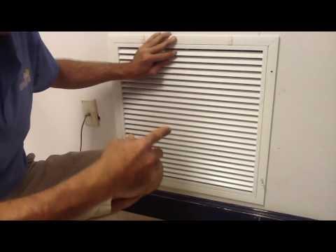 Remodeling Tricks: How to cut a perfect return (AC repair)