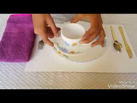 Table Arrangement for Breakfast  Table Arrangement Series  