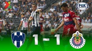 Monterrey - Guadalajara [1-1] | GOLES | Jornada 14 | Liga MX