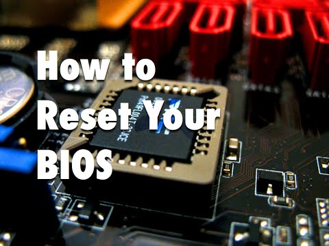 How to Reset Your Bios