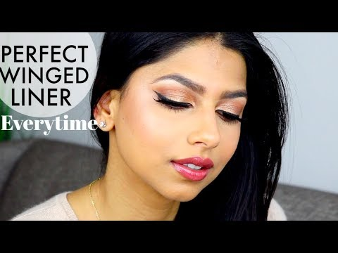 How to create the Perfect Winged Eyeliner! 7 EASY Tips/Tricks that ACTUALLY work!