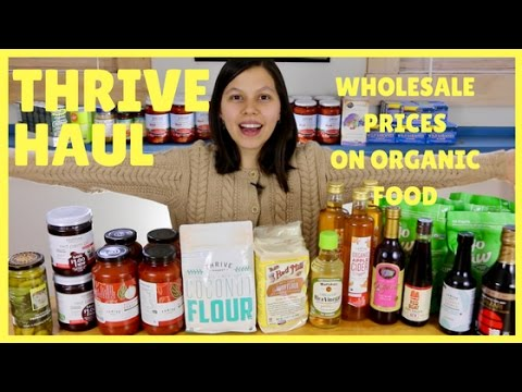 Thrive Market Pantry Haul 🍅 How To Save Money On Healthy Food!