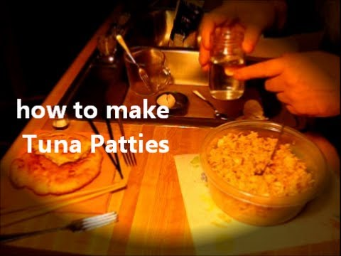 How to make Tuna Patties / easy soul food recipe 1of2