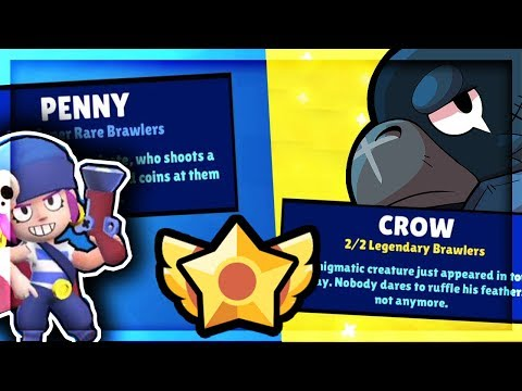 We Pulled CROW AND PENNY! - Crazy Brawl Stars May Update Brawl Box Opening and Update Overview!