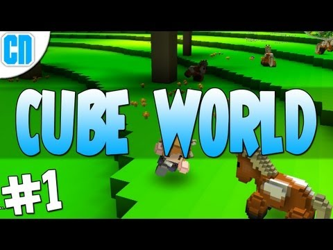 Cube World - Episode #1: How To Survive Your First Platypus