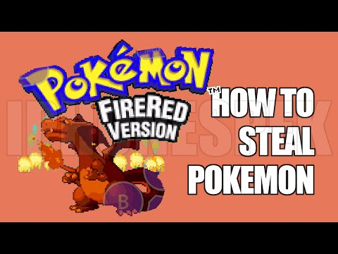 How to Steal Pokemon in Pokemon Fire Red GBA4IOS iOS 11 10 9 iPhone iPad