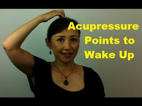 Acupressure Points to Wake Up - Massage Monday #245