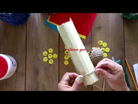 DIY How to make a book box using cardboard