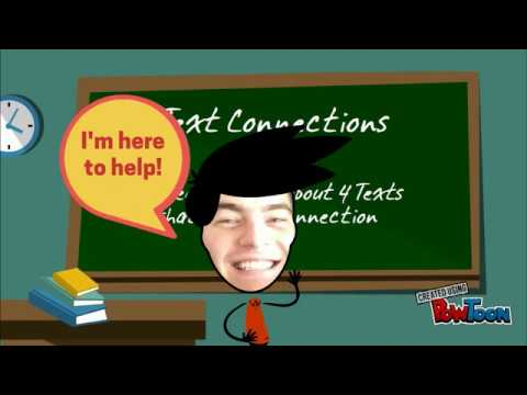 Intro to Text Connections (AS 90852)