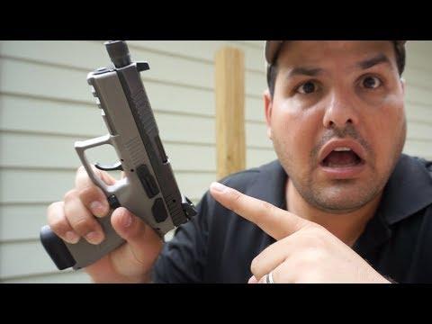 He Lost His Pistol!