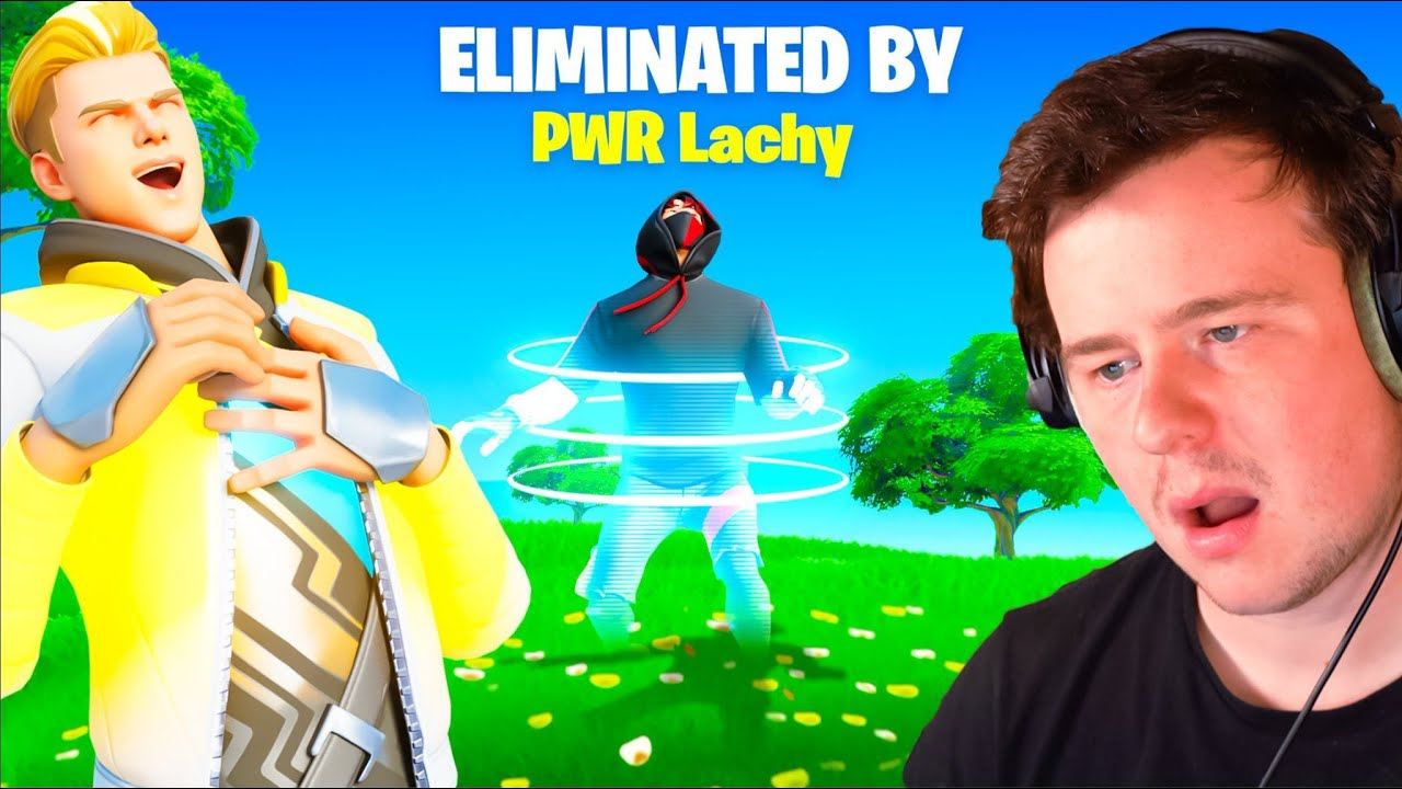 Reacting to Players eliminating me in Fortnite…