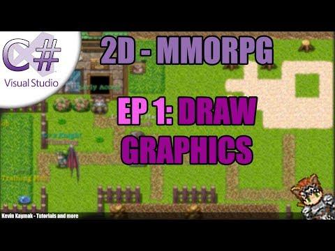 [C#]2D MMORPG Tutorial - EP1: DRAW GRAPHICS