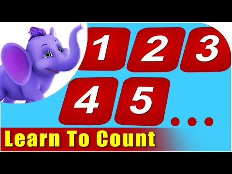 Learn To Count - Count Song for Kids in Gujarati