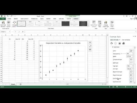 Creating a nice graph in Excel 2013