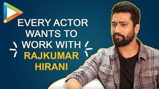 "Vicky Kaushal: ""SANJU mein maine as an actor toh grow kiya he hai BUT…""| Rajkumar Hirani"