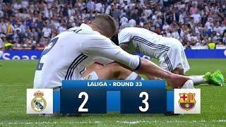 Real Madrid 2-3 Barcelona HD 1080i Full Match Highlights (23/04/17)