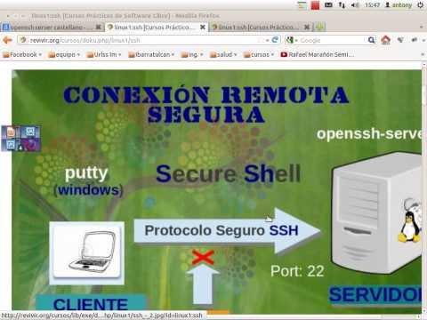 Configurar Openssh en Centos RedHat o Fedora 1ra parte