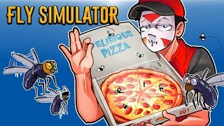 Fly Simulator - Infesting the Pizza Shop! FLIES ASSEMBLE!