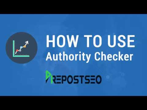 Website Authority Checker By Prepostseo.com